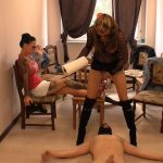 [SCAT-MOVIE-WORLD / CAVIAR-FEMDOM-GIRLS] A new slave is delivered [HD][720p][WMV]
