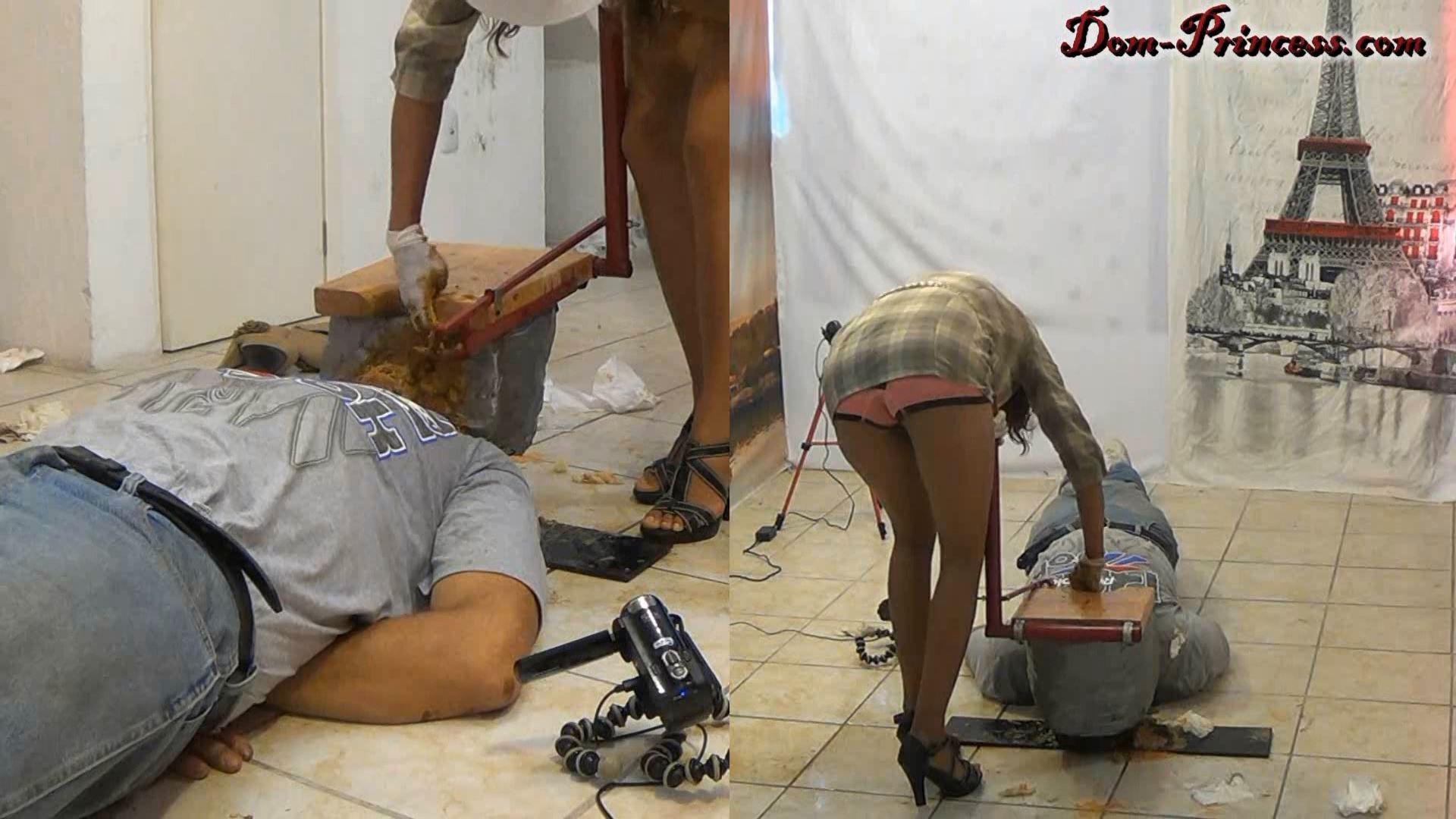 [DOM-PRINCESS / SCAT-PRINCESS] Toilet Slave Enforcement Kit 4 Carmen [FULL HD][1080p][MP4]