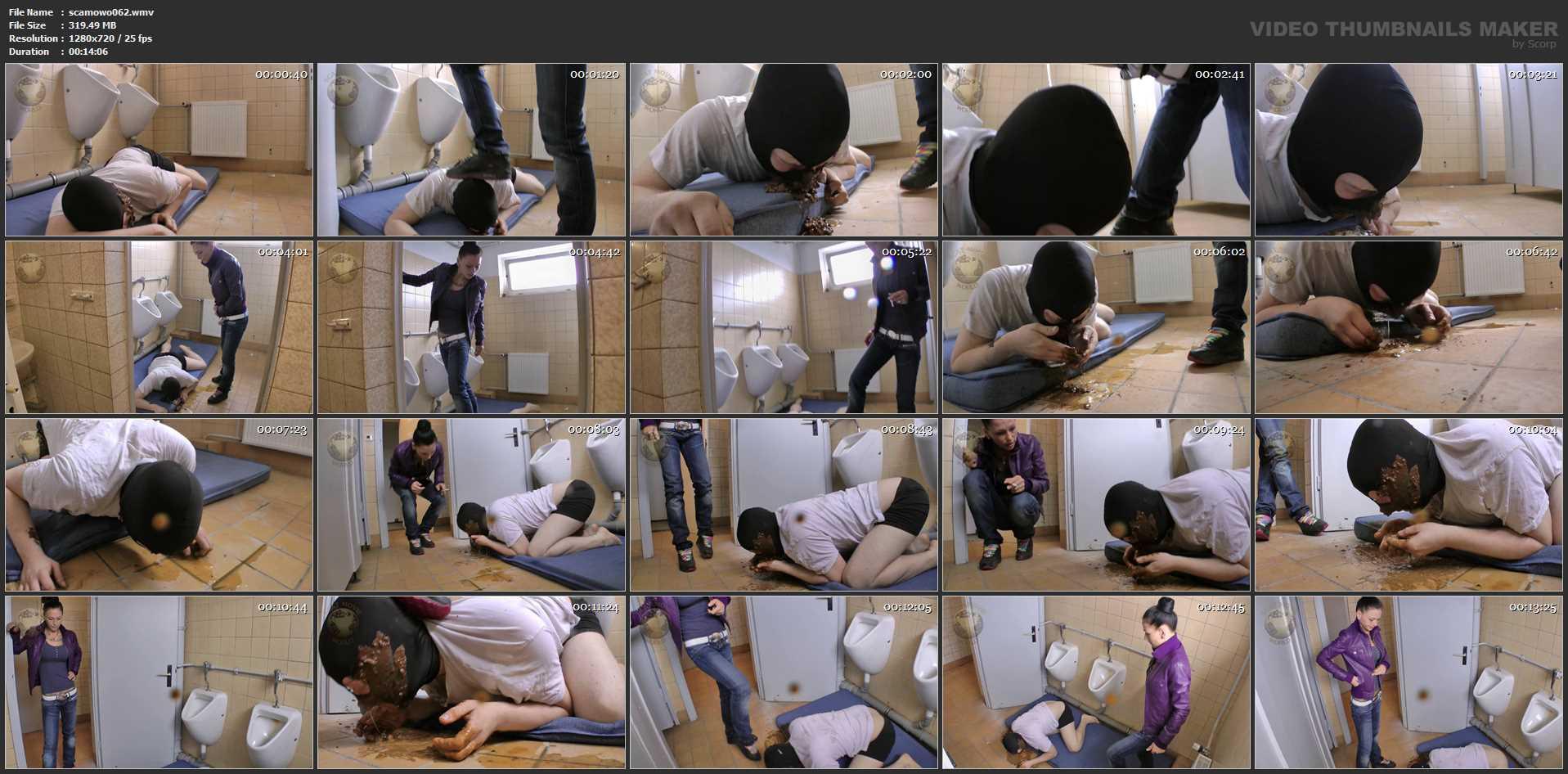 [SCAT-MOVIE-WORLD / CAVIAR-FEMDOM-GIRLS] Homeless help made by Lady Chantal [HD][720p][WMV]