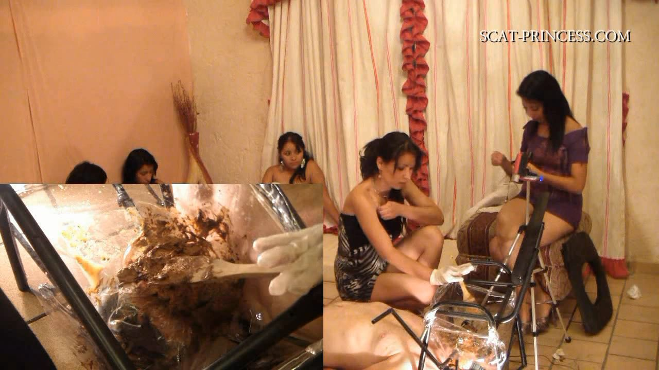 [DOM-PRINCESS / SCAT-PRINCESS] New Irresistible Toilet Chair 7 Adison [HD][720p][MP4]