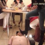 [DOM-PRINCESS] Toilet Slave rolling under the Table Part 3 Jessy [SD][432p][WMV]