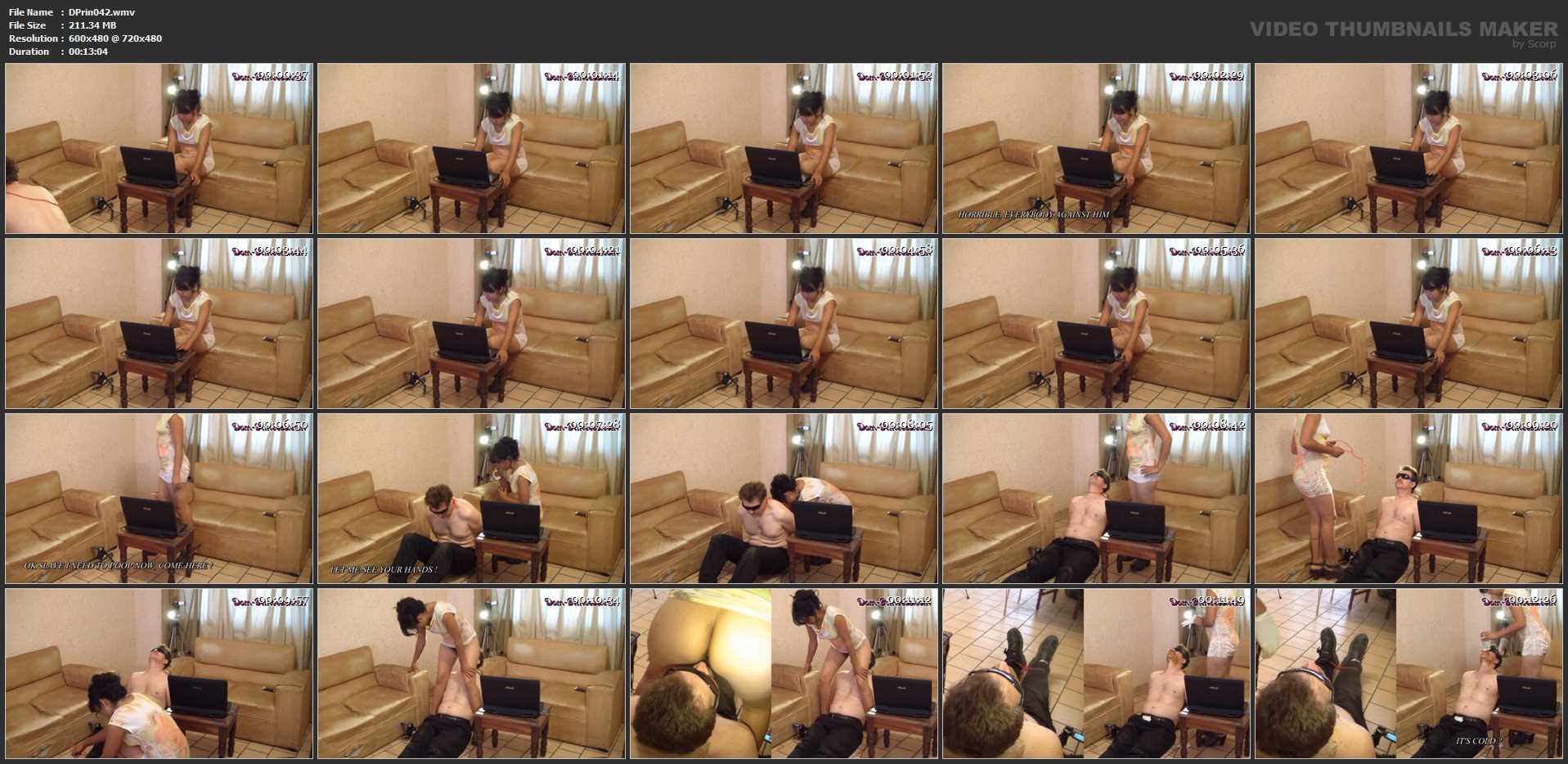 [DOM-PRINCESS] I Chat while you Eat [SD][480p][WMV]