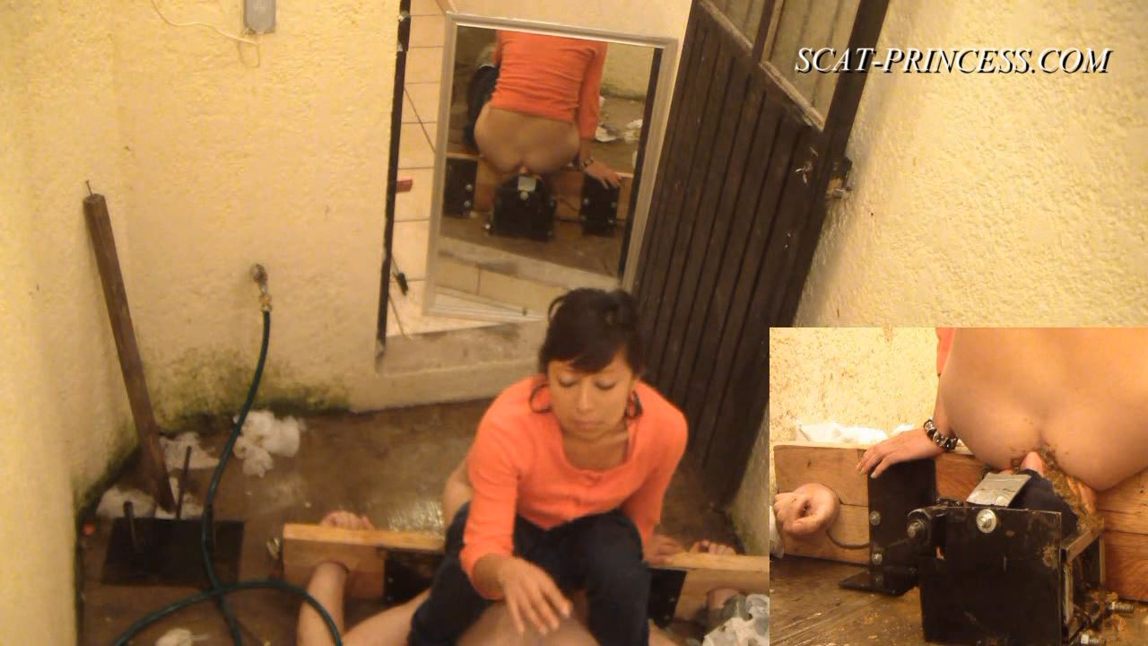 [SCAT-PRINCESS] Cruel Shitting Session in Patio Part 8 Jessy [HD][720p][WMV]