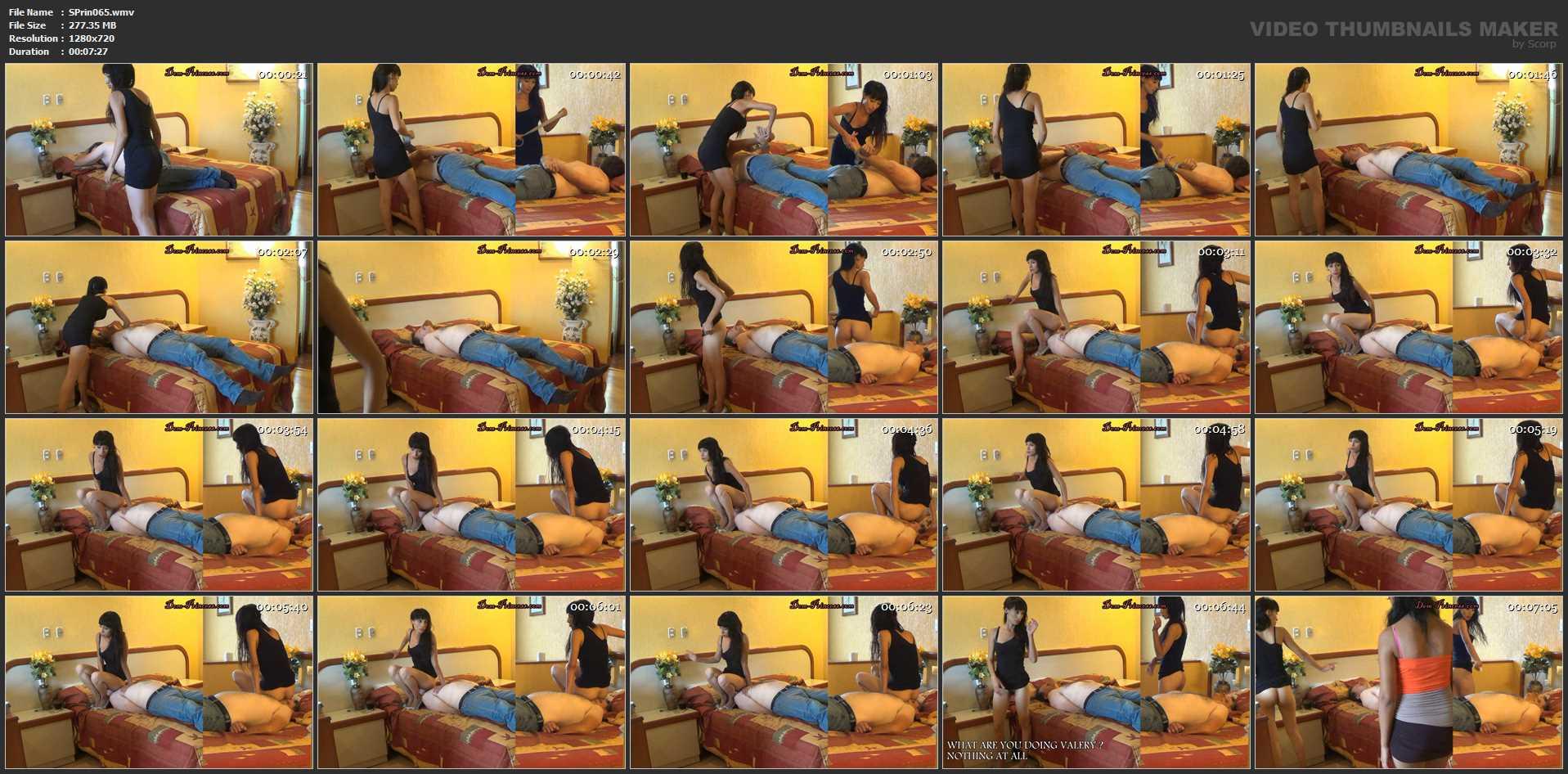 [SCAT-PRINCESS] Be a Toilet by Surprise Part 1 Valery [HD][720p][WMV]
