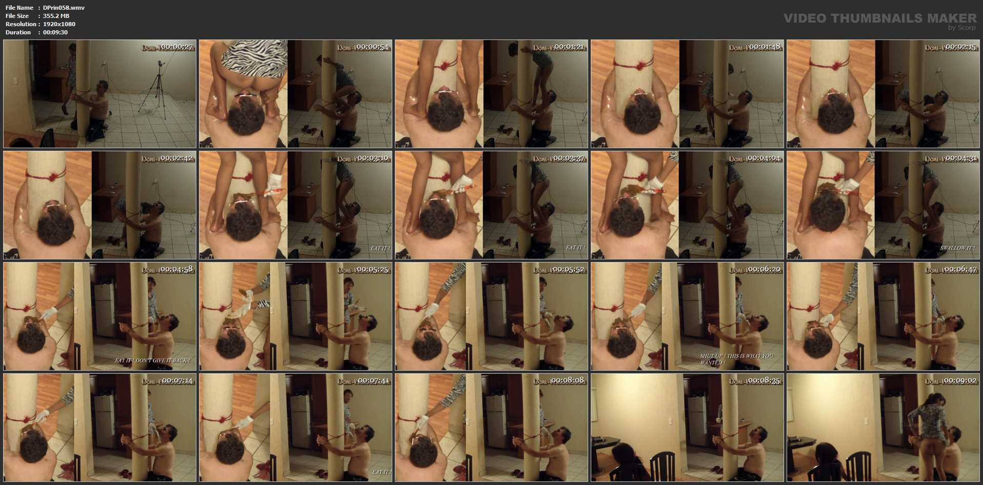 [DOM-PRINCESS] The Slave climing Poop Session Part 1 Britany [FULL HD][1080p][WMV]