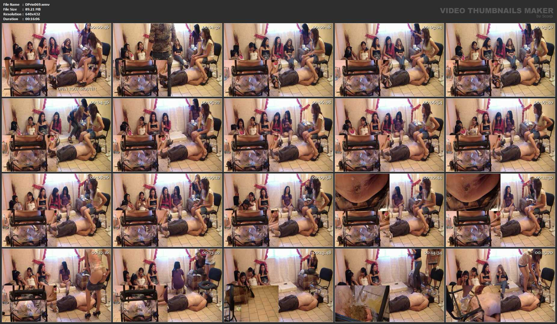 [DOM-PRINCESS] New irristible Toilet Chair Part 4 Christine [SD][432p][WMV]