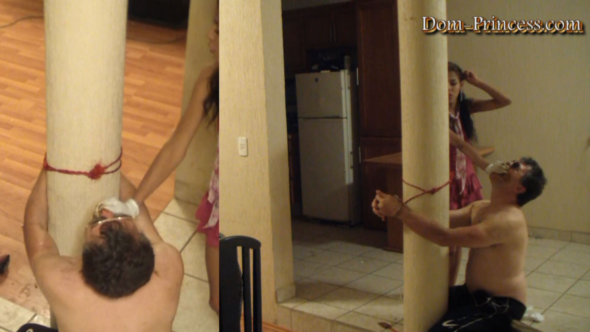 [DOM-PRINCESS] The Slave climing Poop Session Part 2 Chrystal [FULL HD][1080p][WMV]