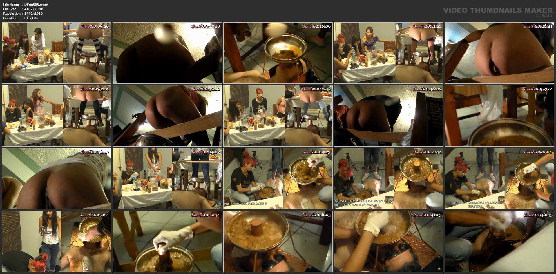 [DOM-PRINCESS] Toilet Mouth High Pressure System II [FULL HD][1080p][WMV]
