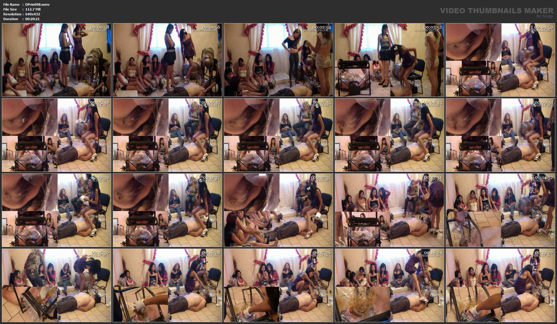 [DOM-PRINCESS] New irristible Toilet Chair Part 2 Chrystal [SD][432p][WMV]