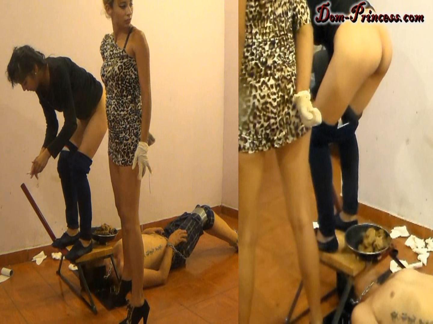 [DOM-PRINCESS] The Raw Tapes, braking a Man into a Humant Toilet. What went wrong Part 4 Samantha [FULL HD][1080p][WMV]
