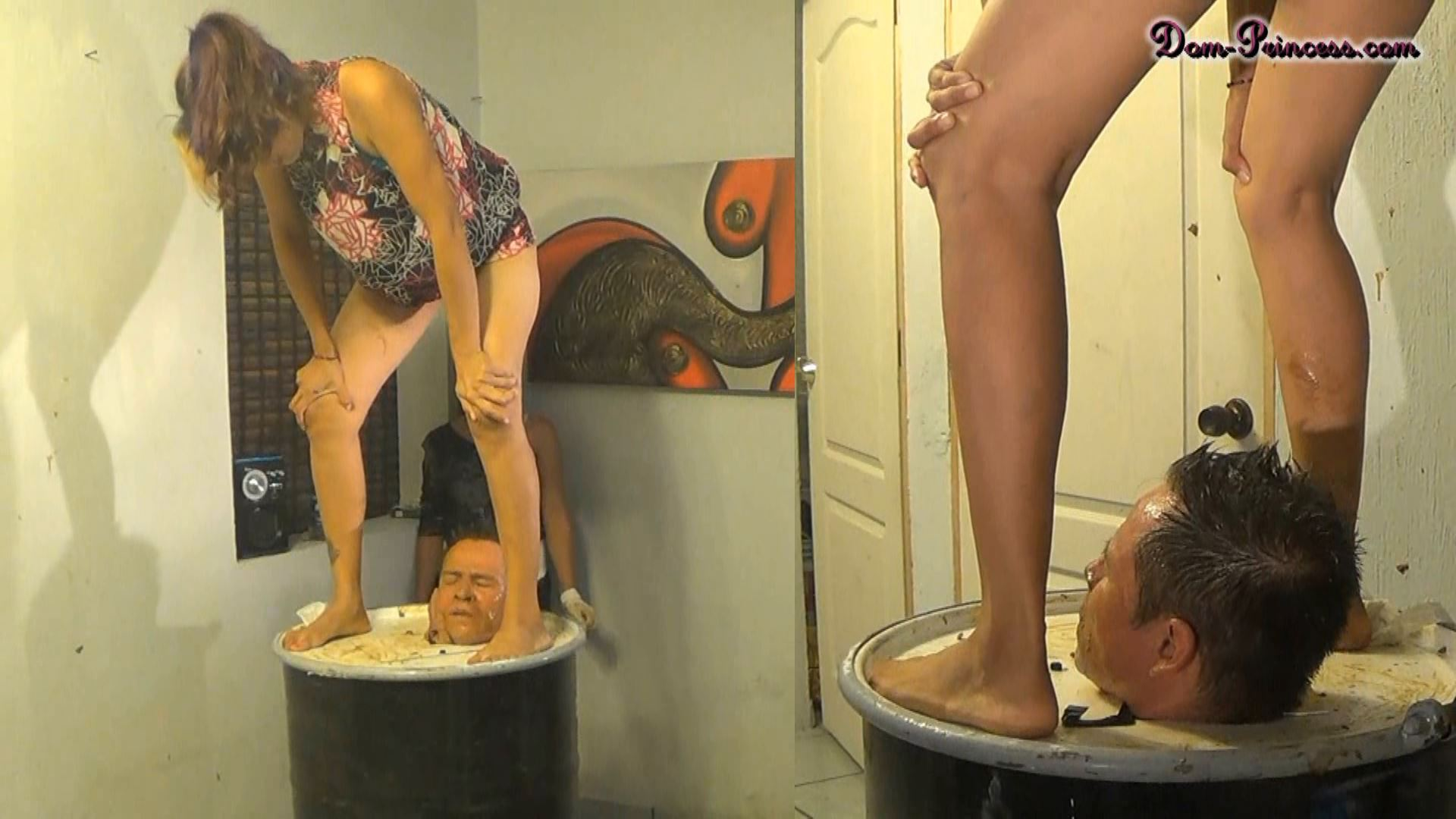 [DOM-PRINCESS] The Face Slapping Support Part 5 Christine [FULL HD][1080p][WMV]