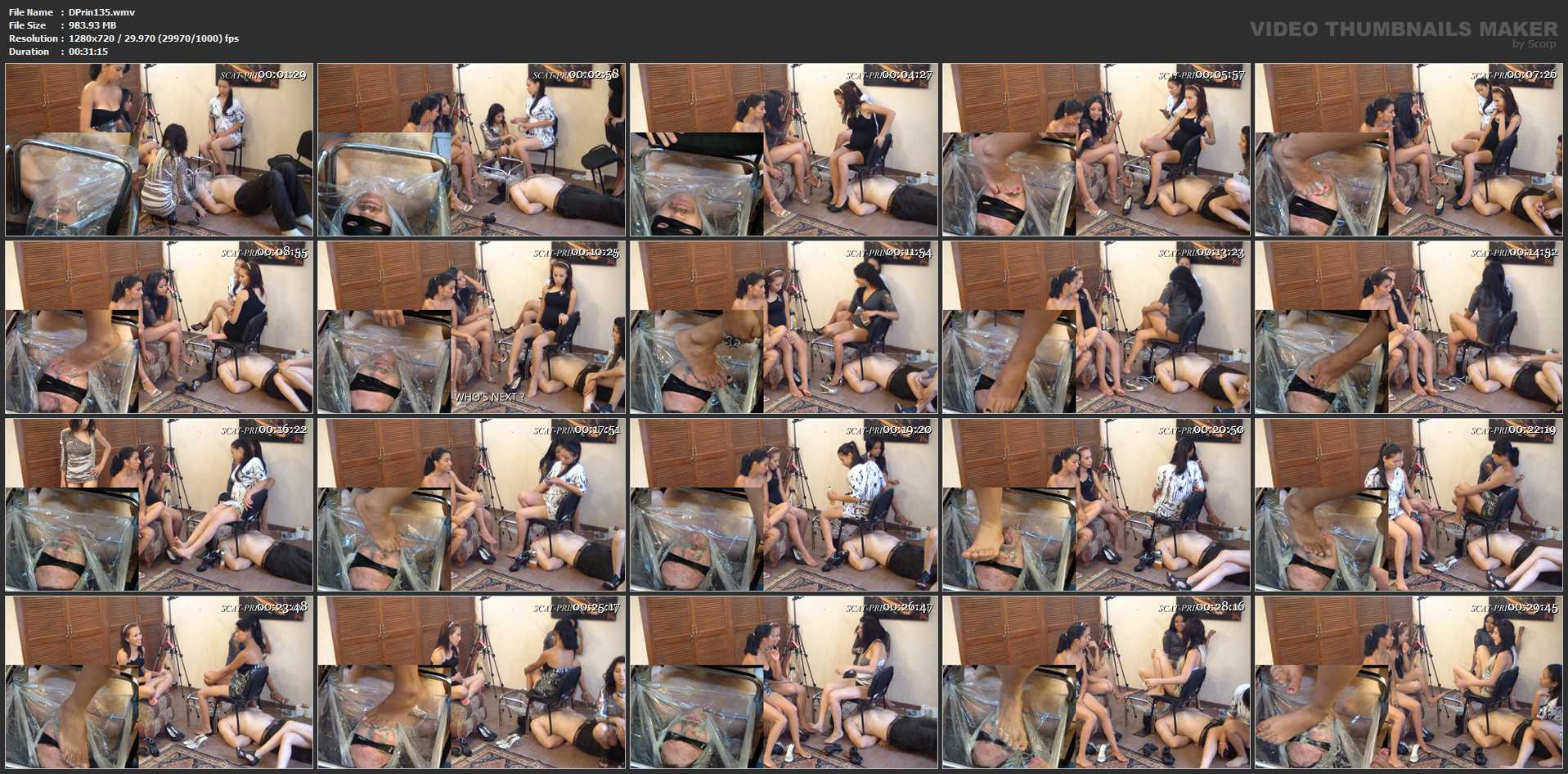 [DOM-PRINCESS] When Shit piles up on his Face, this is what happens Part 1 [HD][720p][WMV]