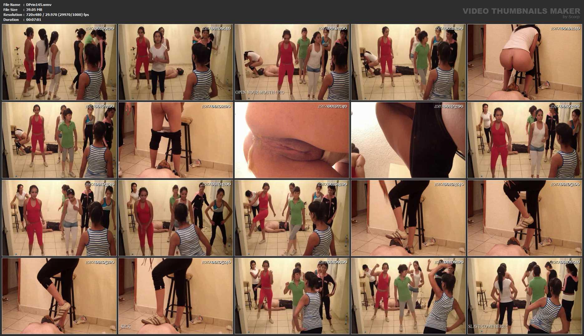 [DOM-PRINCESS] Toilet Slaves Aerobic Lessons Part 3 M [SD][480p][WMV]