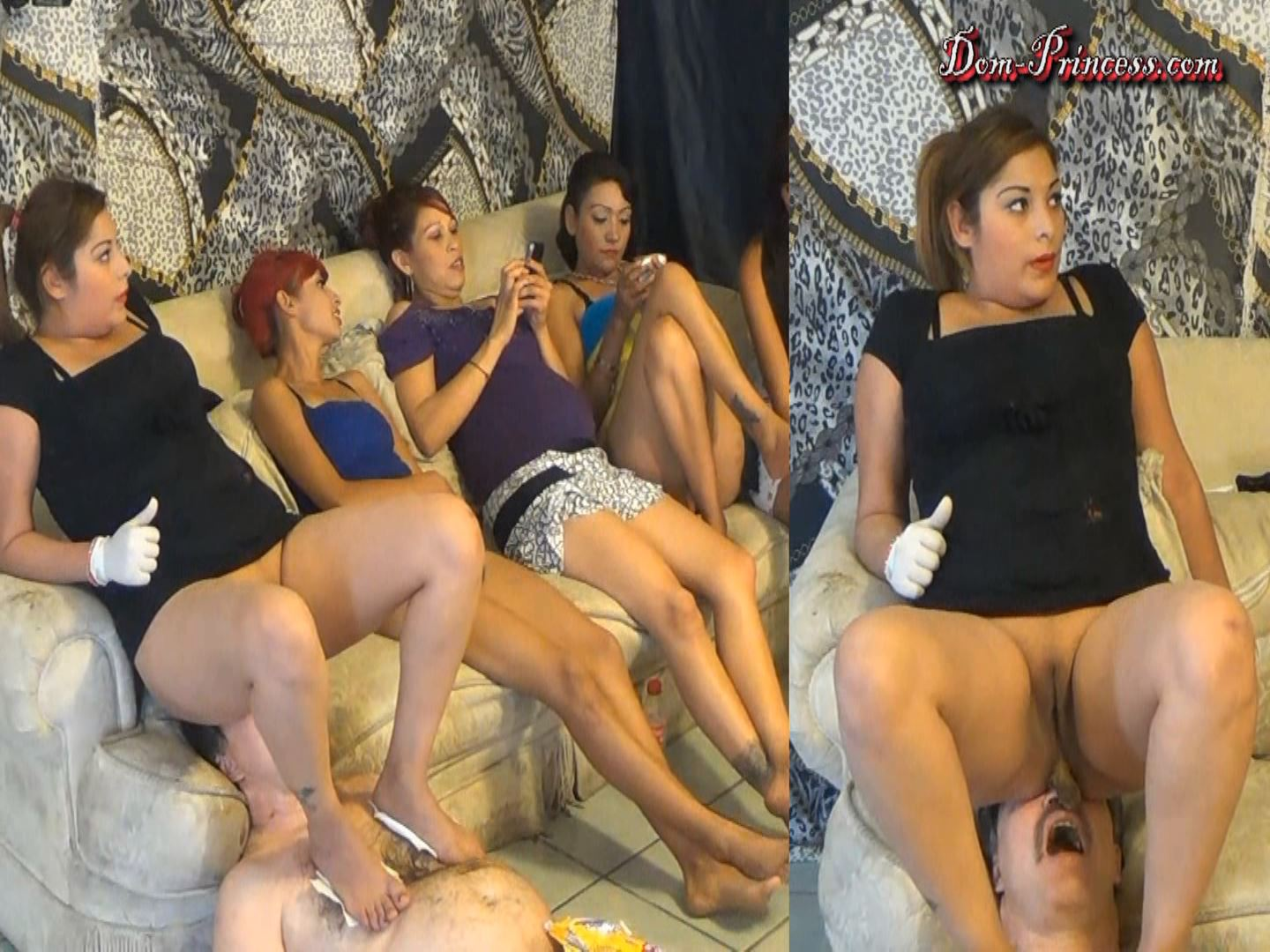 [SCAT-PRINCESS] On Couch Toilet Session Part 5 Ana [FULL HD][1080p][WMV]