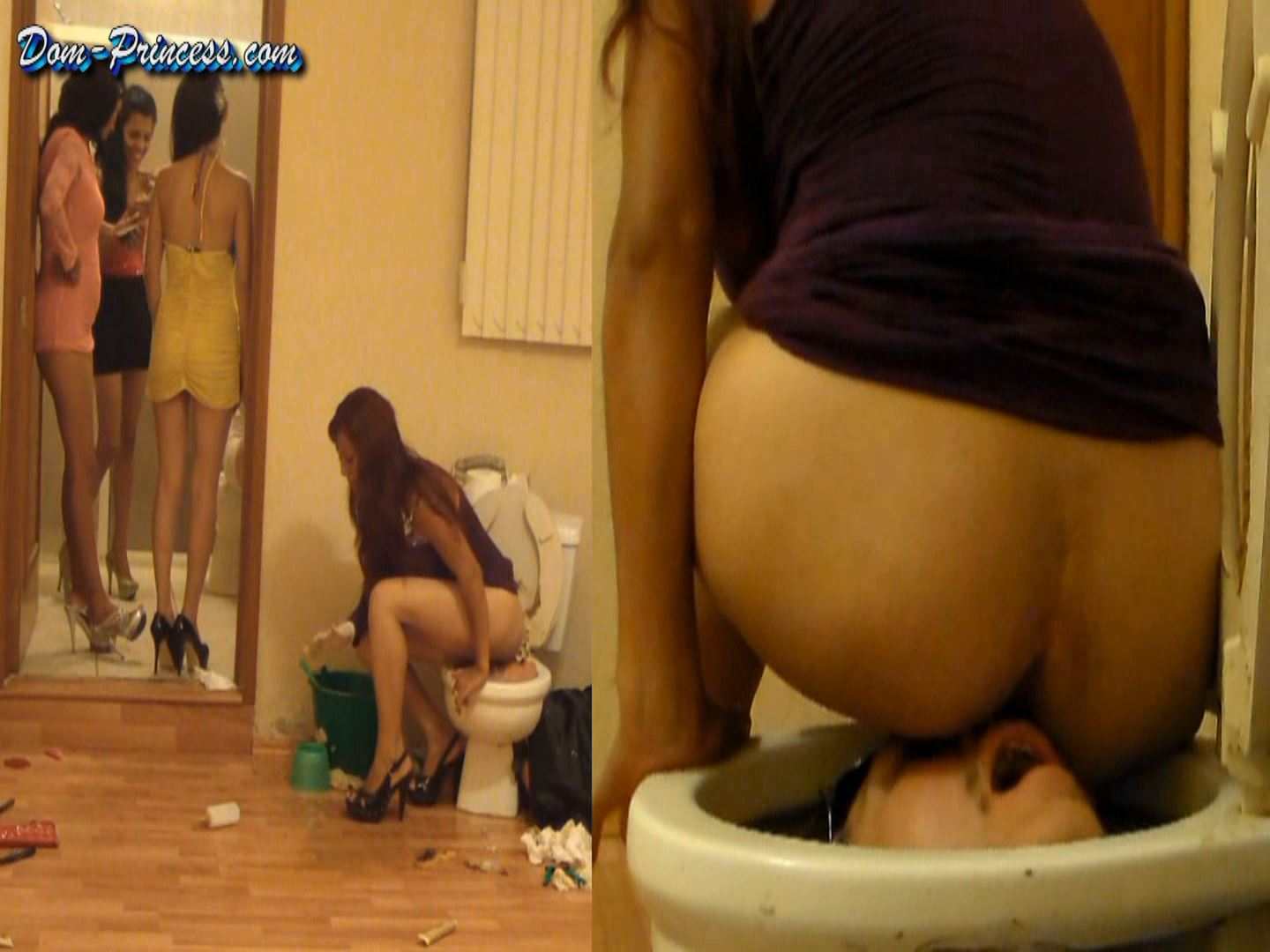 [SCAT-PRINCESS] Human Toilet Bowl locked Part 9 Marie [FULL HD][1080p][WMV]