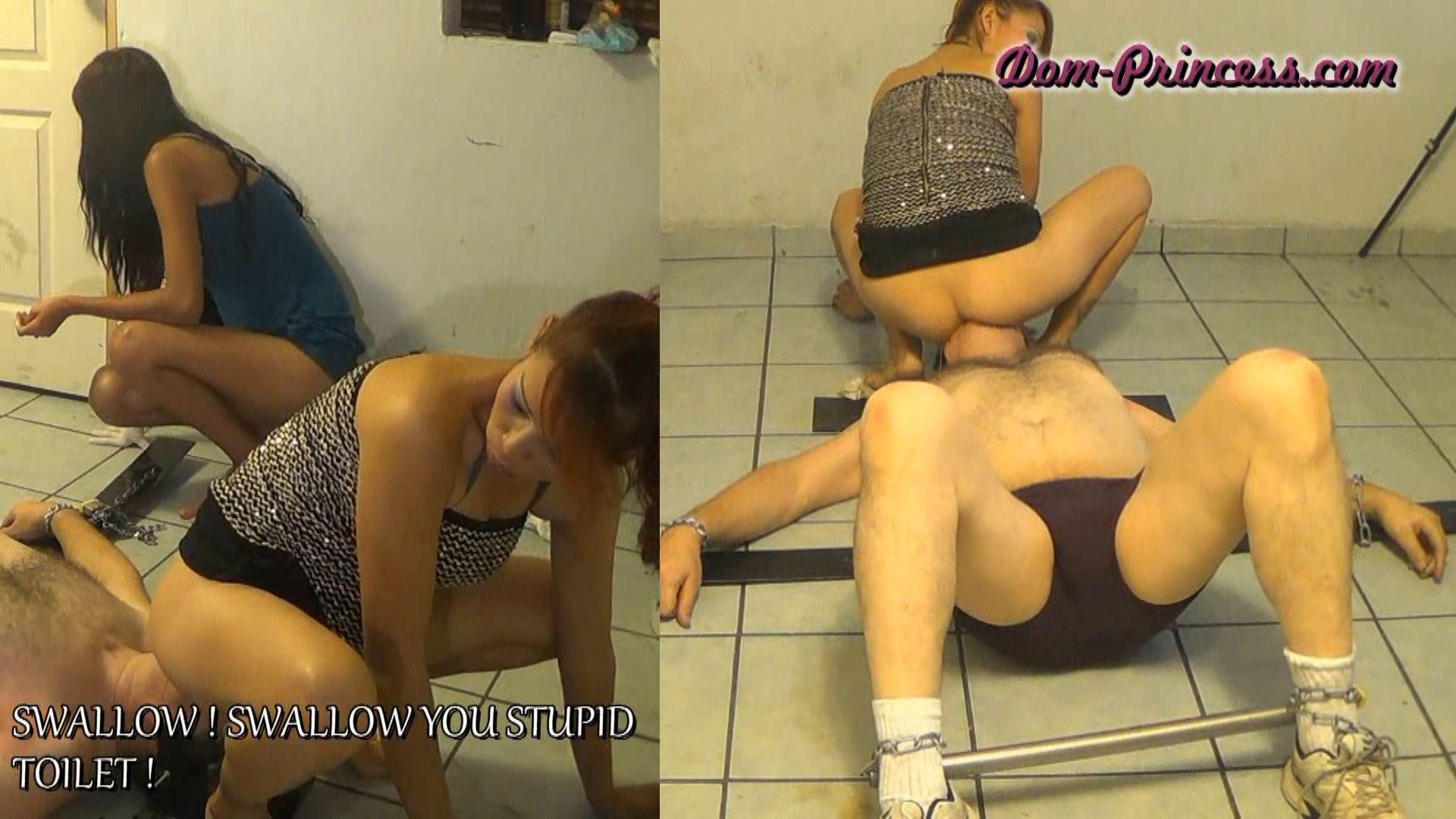 [SCAT-PRINCESS] Sit on Mouth Push Transaction Part 4 Christine [FULL HD][1080p][WMV]