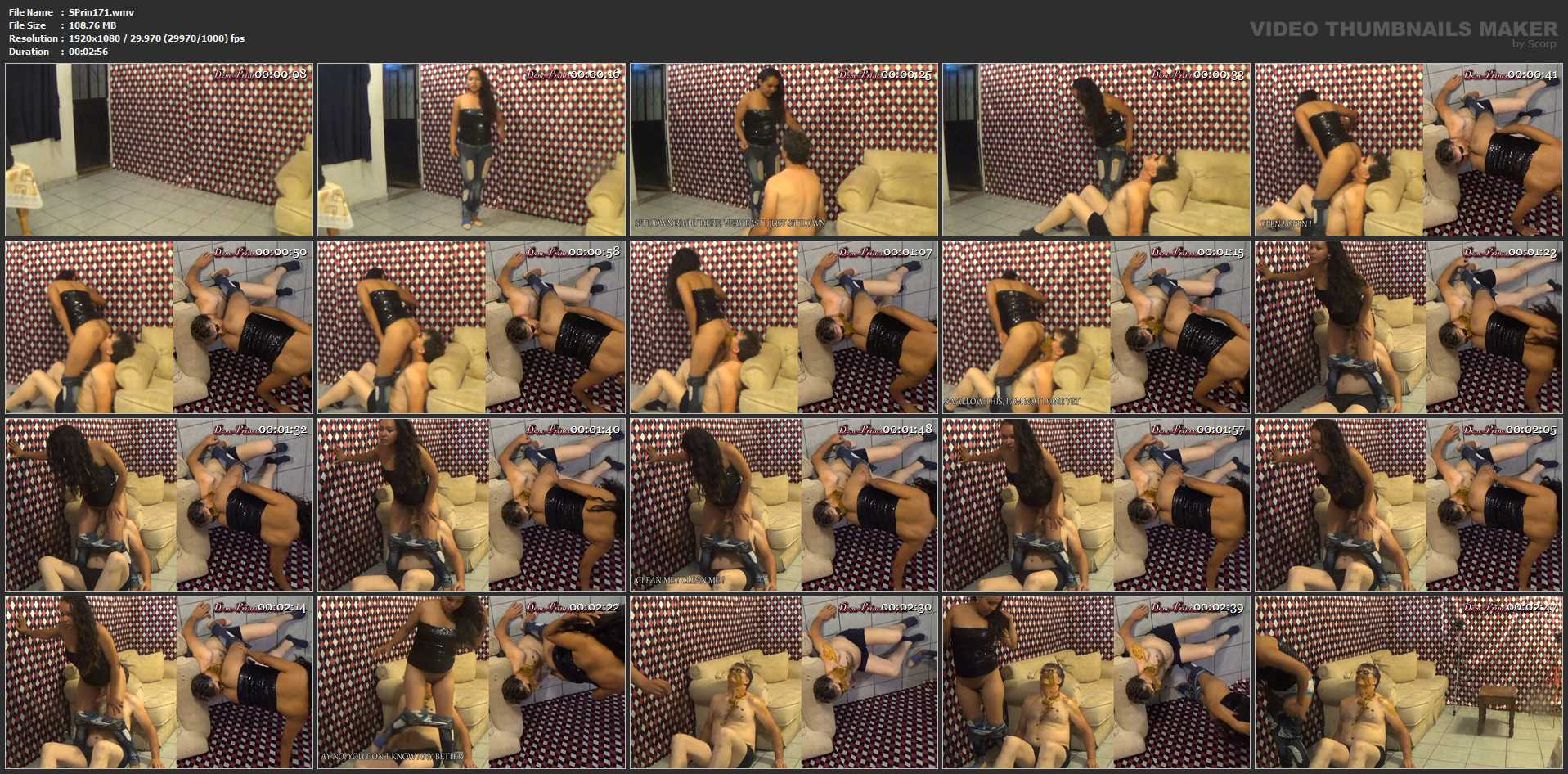 [SCAT-PRINCESS] Hurry Pig, sit down right here [FULL HD][1080p][WMV]