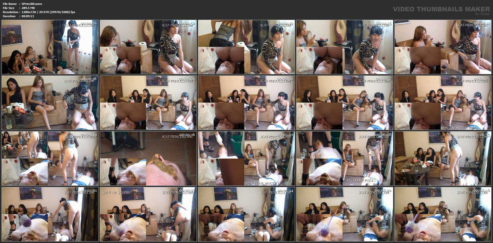 [SCAT-PRINCESS] Dramatic Turn during filming, please let me go Part 3 Tifany [HD][720p][WMV]