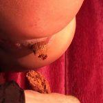 [SCAT FEMDOM MEDLEY] Mistress Diana scat toilet slavery POV [LQ][360p][MP4]