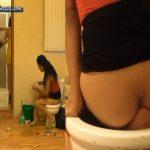 [SCAT-PRINCESS] Human Toilet Bowl locked Part 7 Chrystal [FULL HD][1080p][WMV]