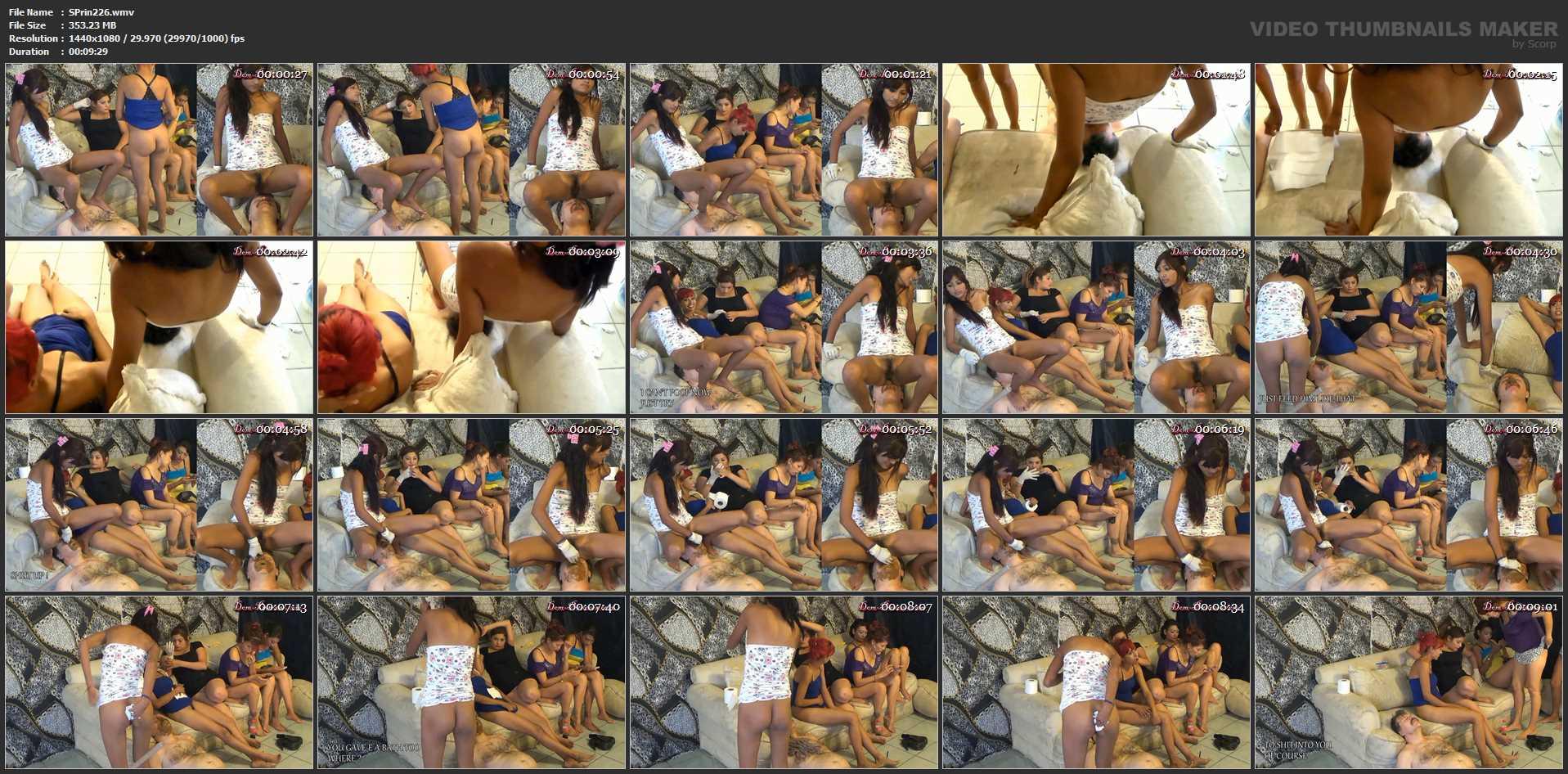 [SCAT-PRINCESS] On Couch Toilet Session Part 3 Carmen [FULL HD][1080p][WMV]