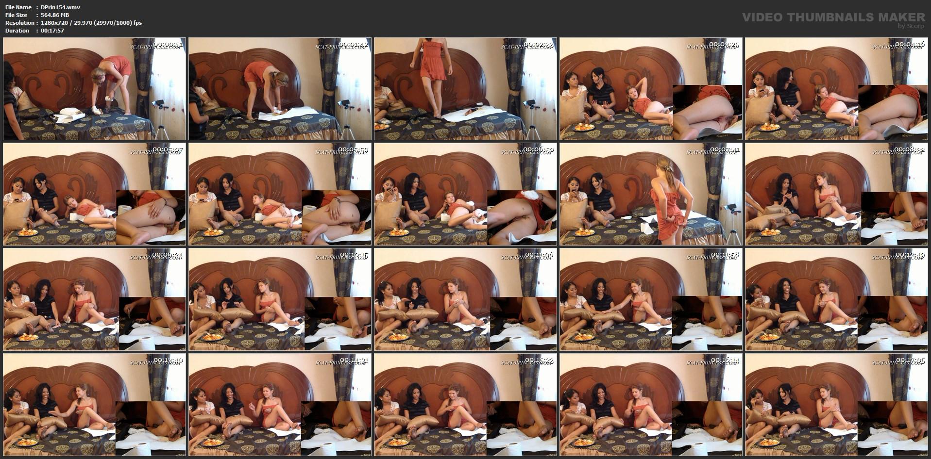 [DOM-PRINCESS] Toilet Slave's Bed Cage Part 3 Merica [HD][720p][WMV]