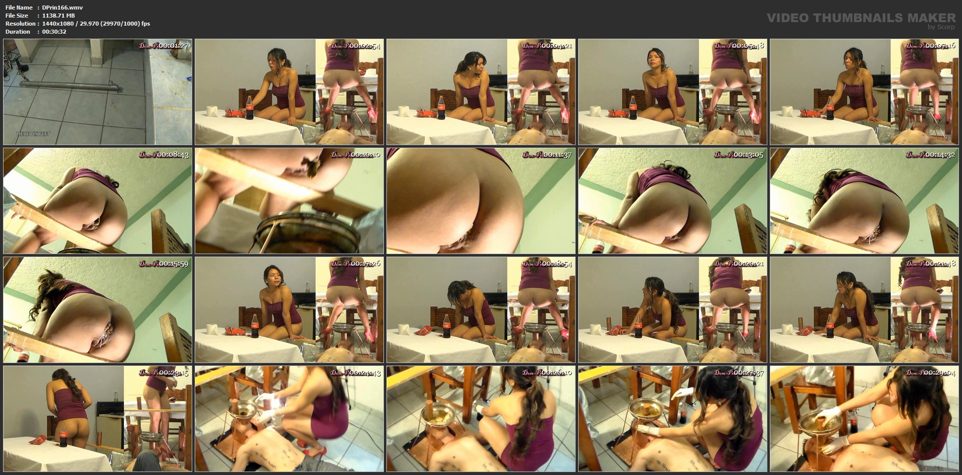 [DOM-PRINCESS] Toilet Mouth High Pressure System Part 1 Adison [FULL HD][1080p][WMV]