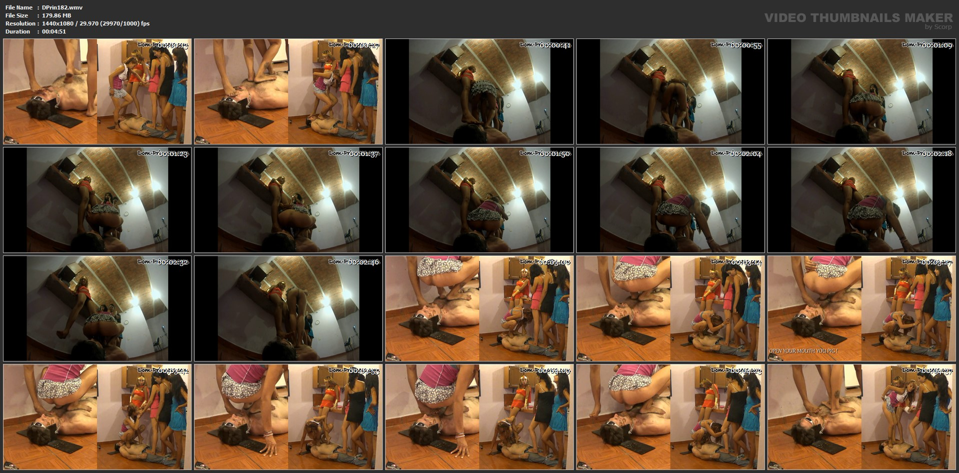 [DOM-PRINCESS] The Stand on Poop Session Part 2 Christine [FULL HD][1080p][WMV]