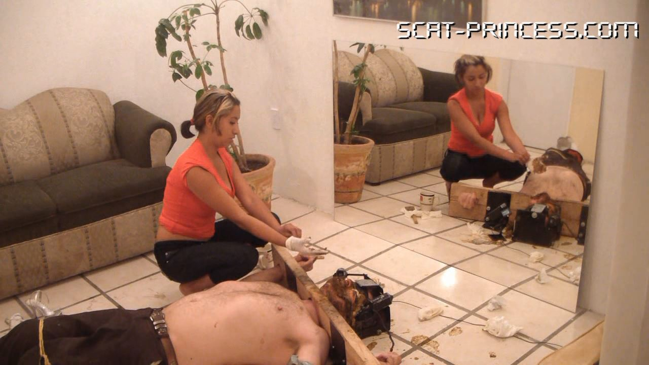 [SCAT-PRINCESS] 9 Lunches for 9 and 9 Dinners for one, poor Toilet Slave Part 9 Nataly [HD][720p][WMV]
