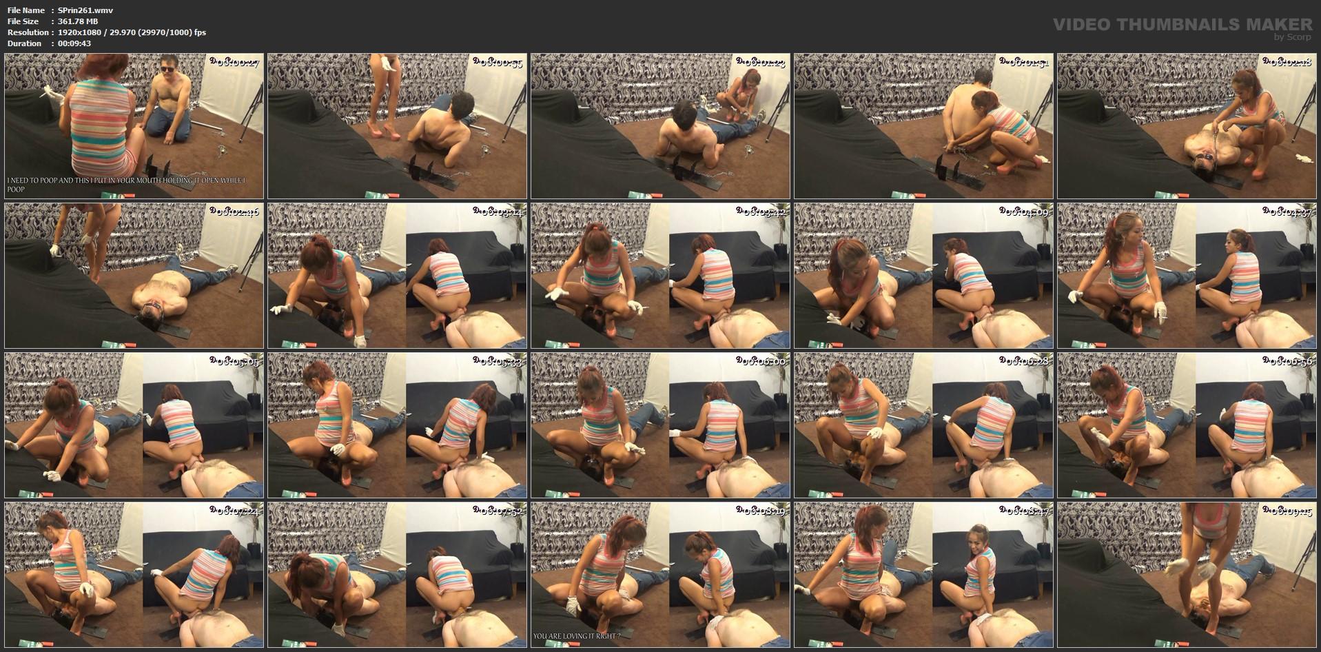 [SCAT-PRINCESS] Protocol Poop Resist Give Up Swallow III Part 5 Karina [FULL HD][1080p][WMV]