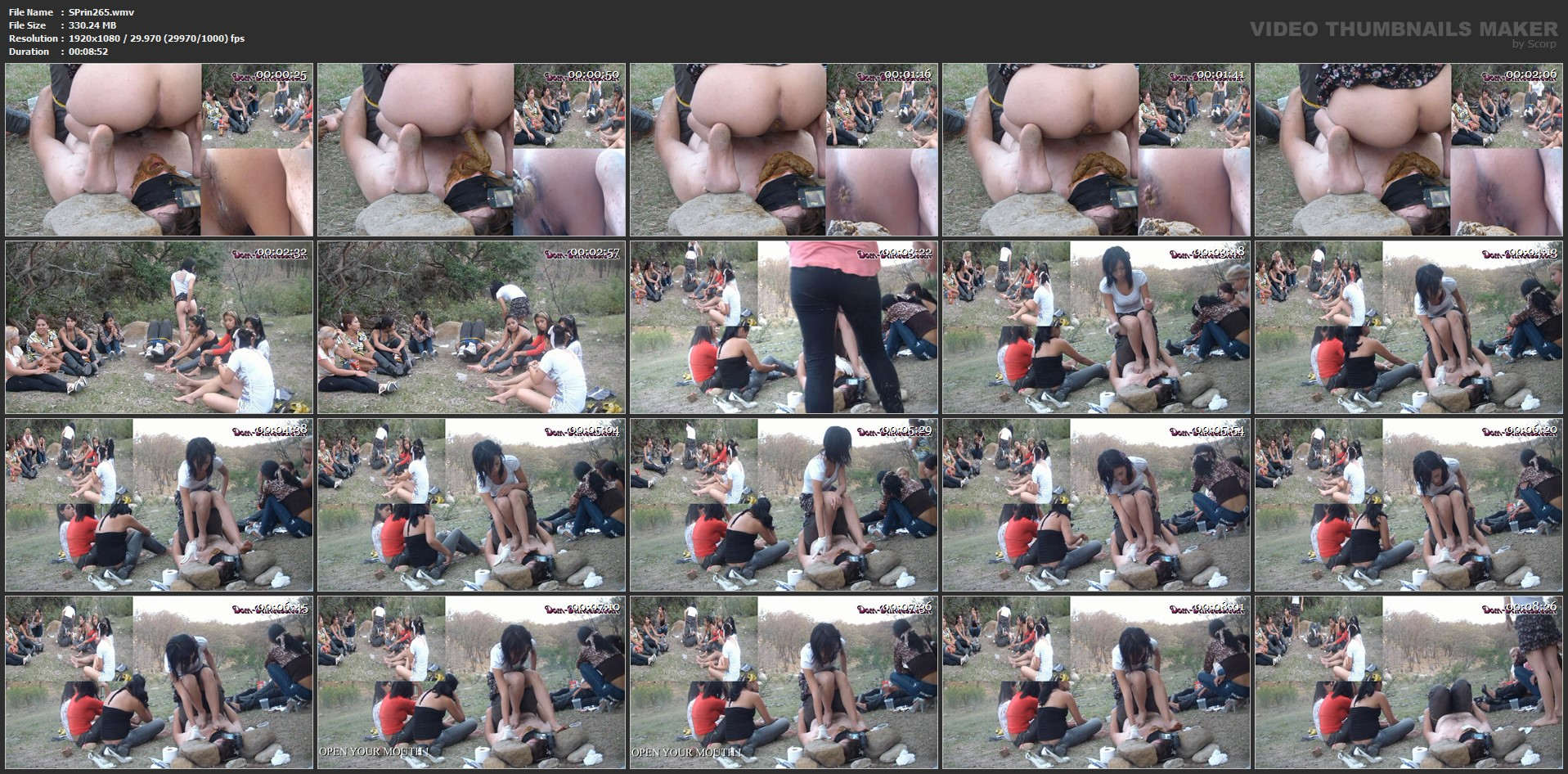 [SCAT-PRINCESS] Functional Toilet in the Woods Part 7 Valery [FULL HD][1080p][WMV]