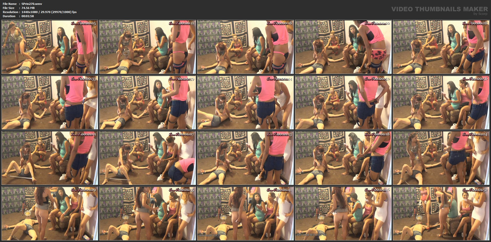 [SCAT-PRINCESS] Face's Toilet Attachment Kit turns Dramatic during Filming II Part 5 Karina [FULL HD][1080p][WMV]