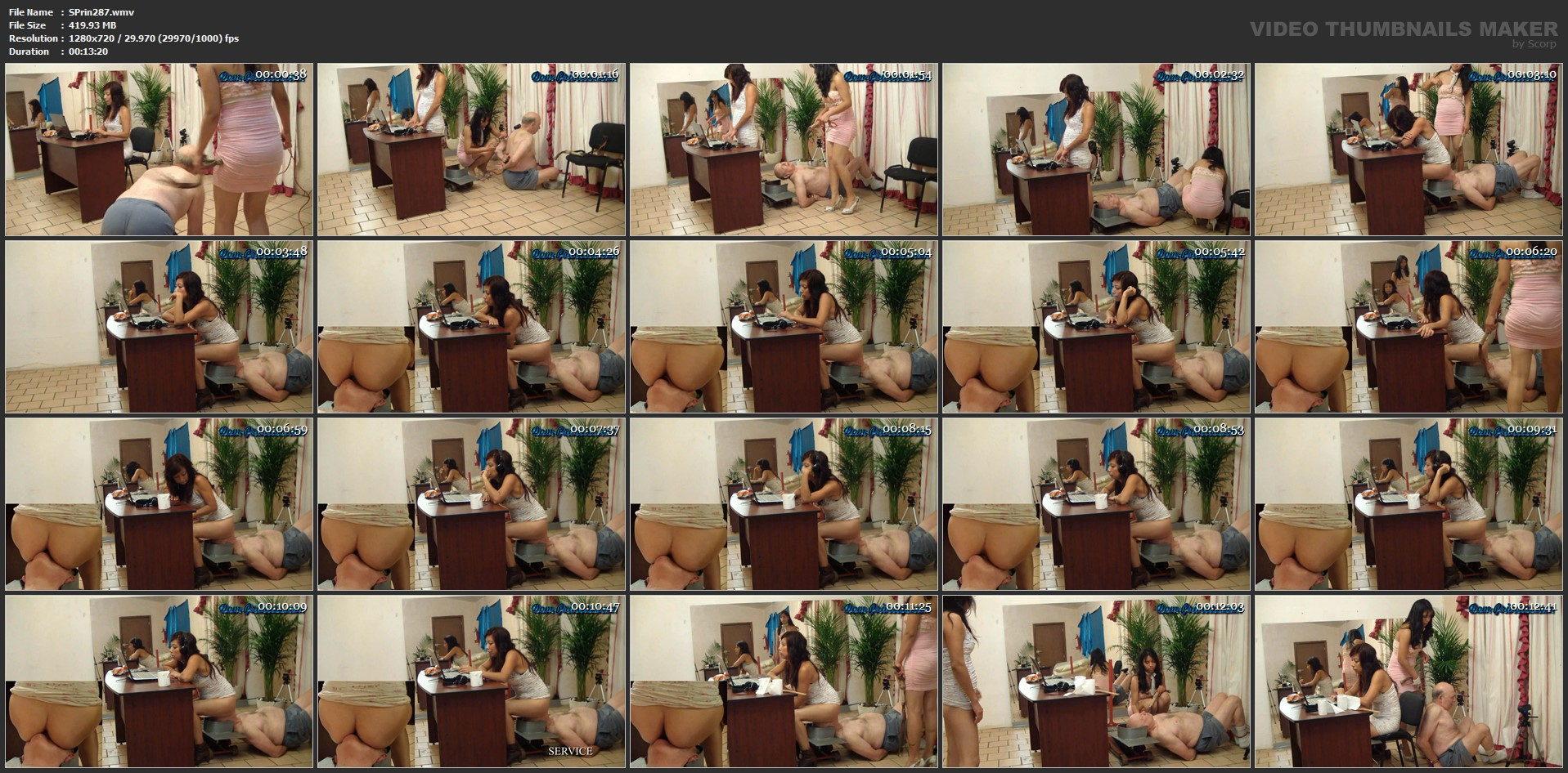 [SCAT-PRINCESS] Another Day in the Office Part 14 Jessy [HD][720p][WMV]