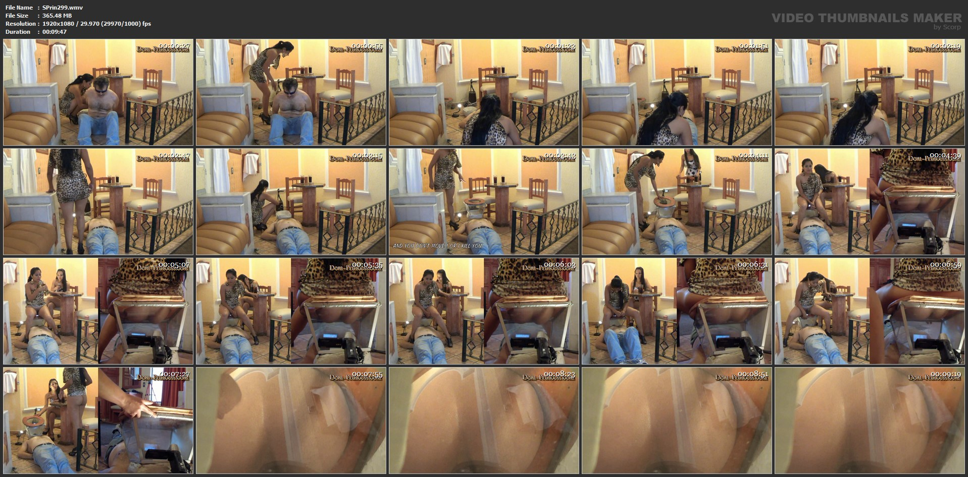 [SCAT-PRINCESS] Stone Mask   Showcase   Girl Part 08 Gabi [FULL HD][1080p][WMV]