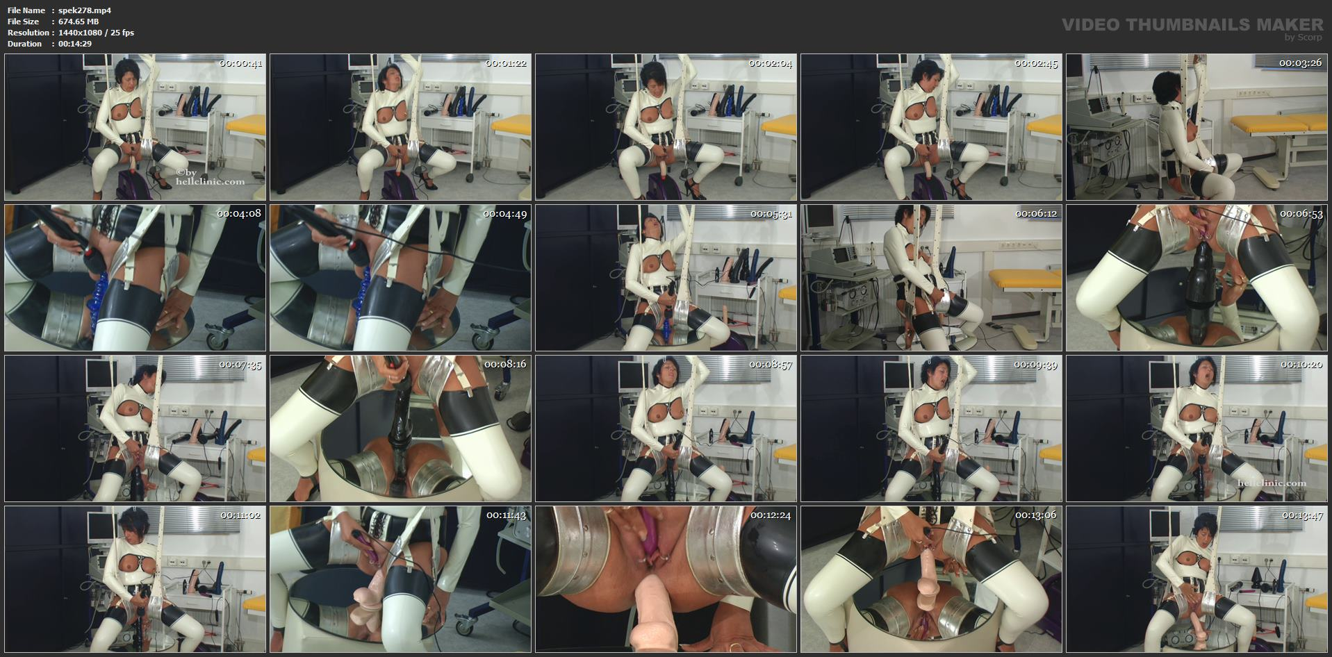 [SPEKULA] Bizarre anal stretching [FULL HD][1080p][MP4]