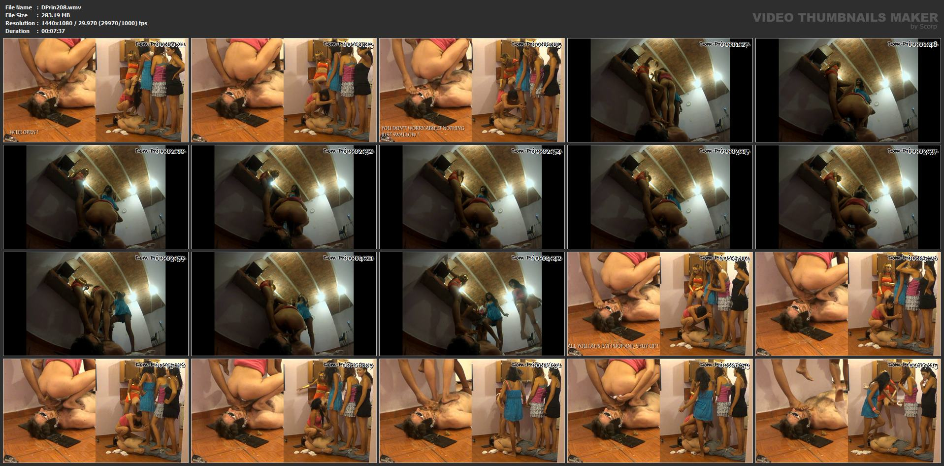[DOM-PRINCESS] The Stand on Poop Session Part 4 Samantha [FULL HD][1080p][WMV]