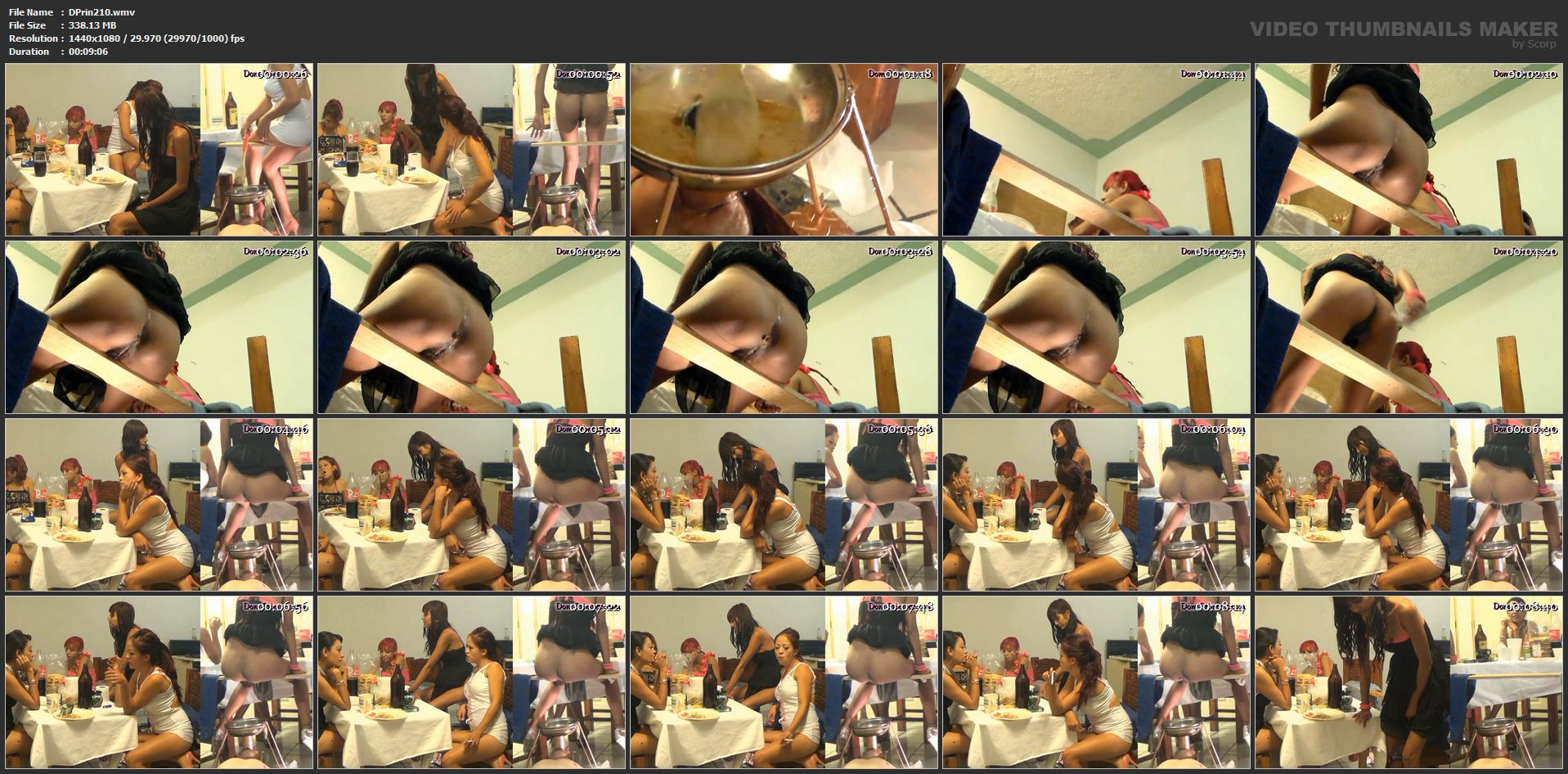 [DOM-PRINCESS] Toilet Mouth High Pressure System Part 4 Carmen [FULL HD][1080p][WMV]