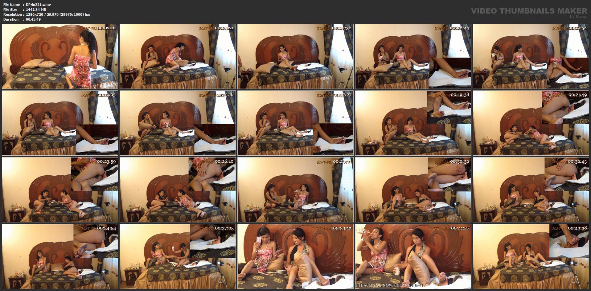 [DOM-PRINCESS] Toilet Slave's Bed Cage Part 5 Nataly [HD][720p][WMV]