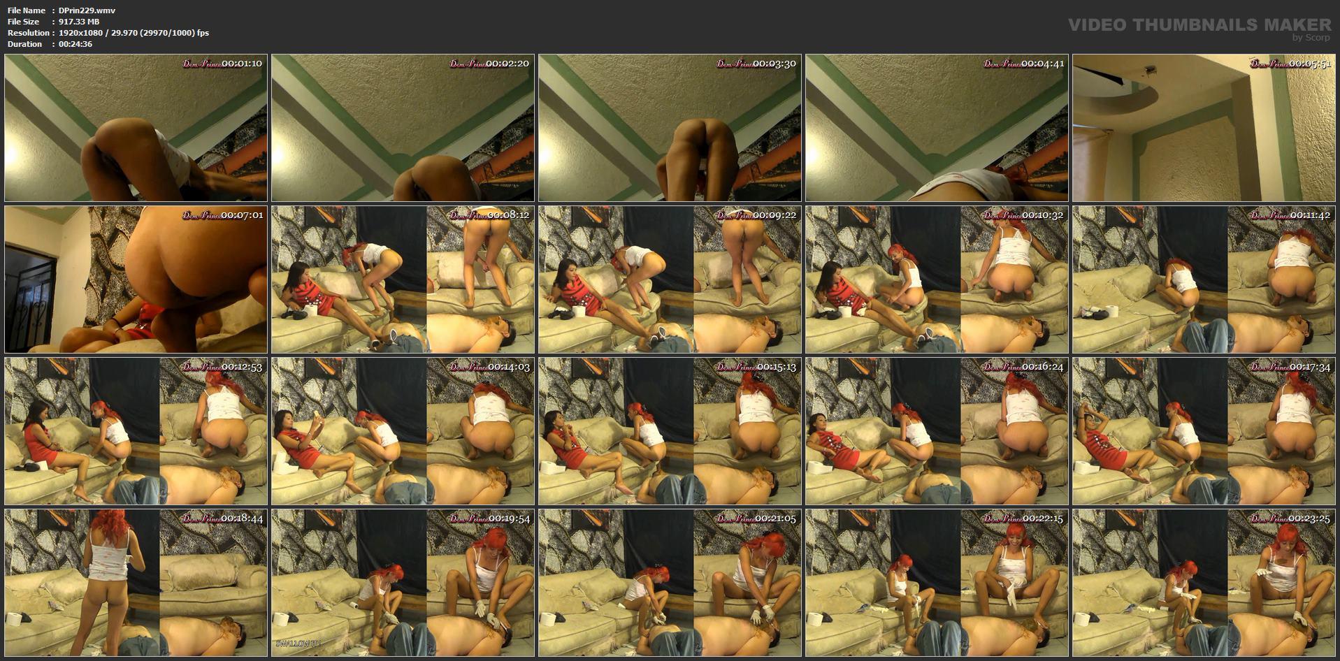 [DOM-PRINCESS] Toiet Slave has Surprised Visit Part 2 Inka [FULL HD][1080p][WMV]