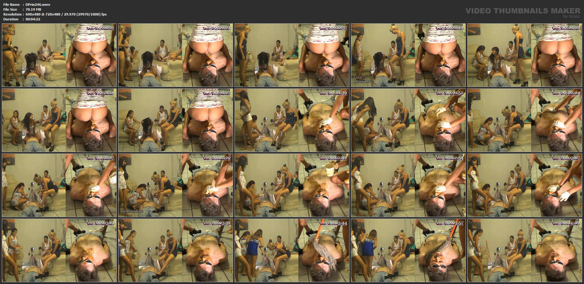 [DOM-PRINCESS] Toilet Slave is being convinced to be a Good Toilet Part 2 Carmen [SD][480p][WMV]