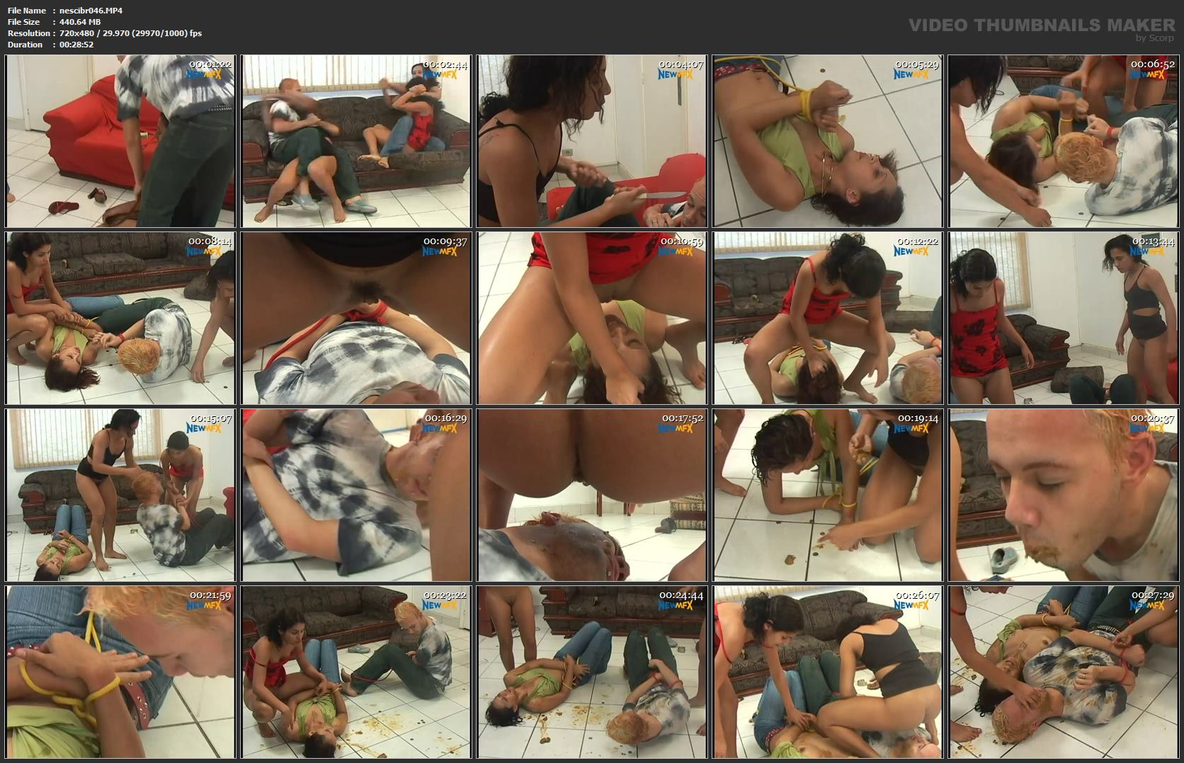 [NEW SCAT IN BRAZIL / NEWMFX] SCAT HUMILIATE MAN. Featuring: Outro [SD][480p][MP4]