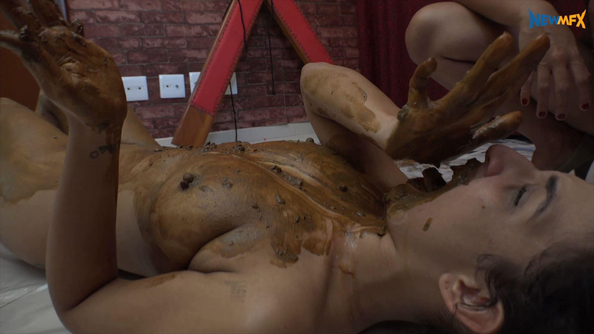 [NEW SCAT IN BRAZIL / NEWMFX] PET SLAVE. Featuring: Alana, Saori Kido [FULL HD][1080p][MP4]