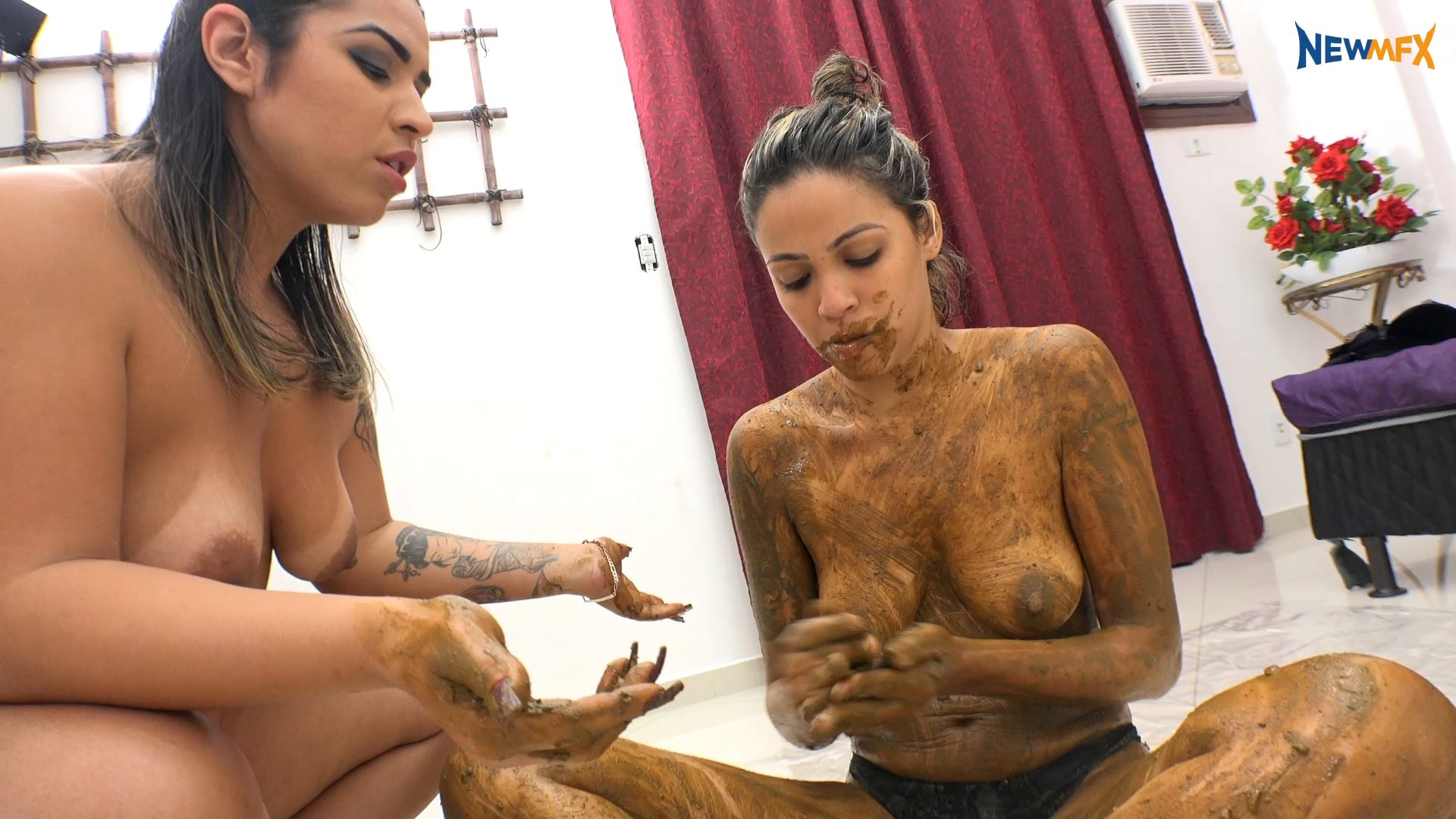 [NEW SCAT IN BRAZIL / NEWMFX] THE SLAVE'S WISHES. Featuring: Jaqueline, Victoria [FULL HD][1080p][MP4]