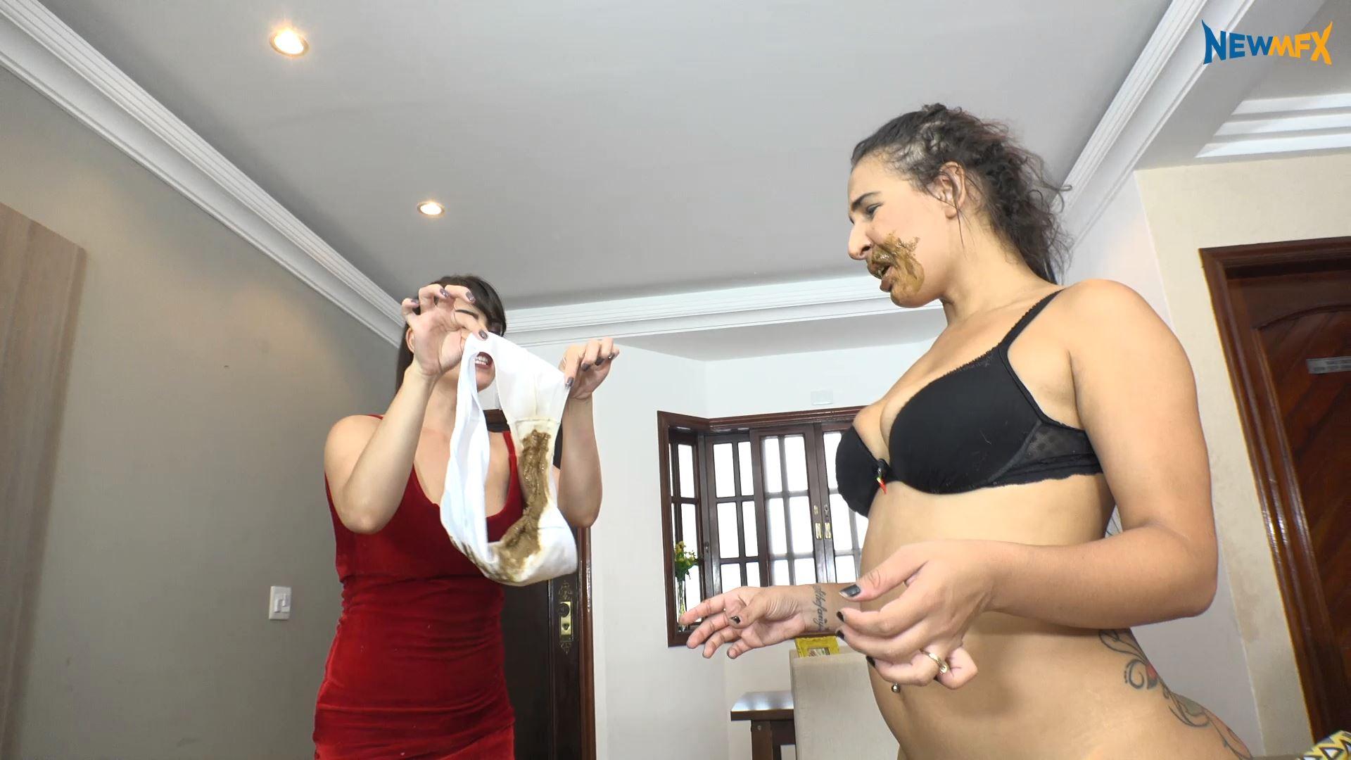 [NEW SCAT IN BRAZIL / NEWMFX] SHITTING ON WHITE PANTIES. Featuring: Milla, Saori Kido, Demmi [FULL HD][1080p][MP4]
