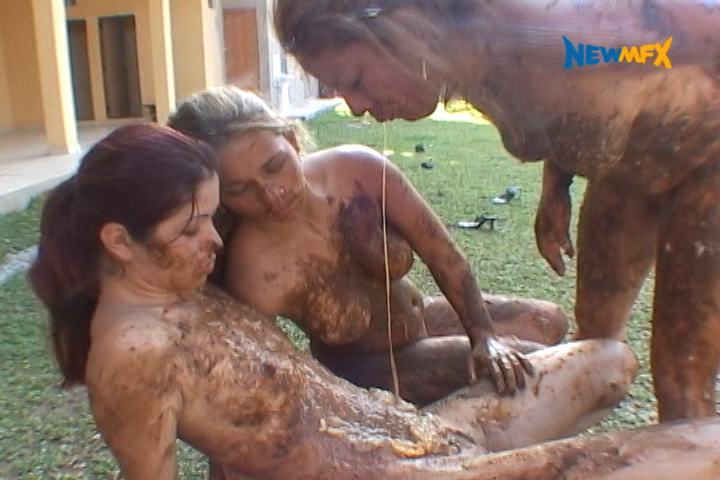 [NEW SCAT IN BRAZIL / NEWMFX] SHITTING OUTDOORS. Featuring: Tatthy, Giovanna, Andressa, Diana, Karla, Alessandra [SD][480p][MP4]
