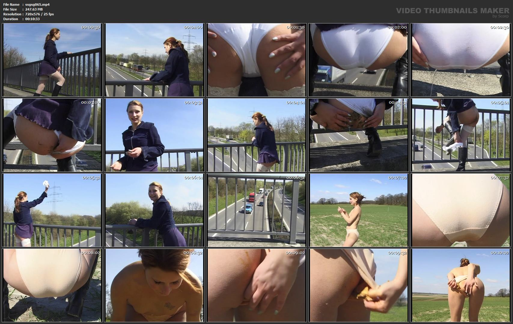 [SOLO SCAT GIRLS / SG-VIDEO] Solo Scat Girls Jenny [SD][576p][MP4]