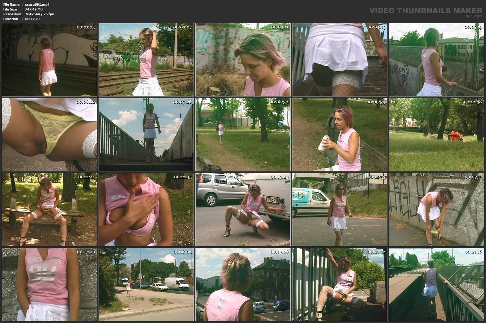 [SOLO SCAT GIRLS / SG-VIDEO] Solo Pee Girls Regina Fox [SD][544p][MP4]