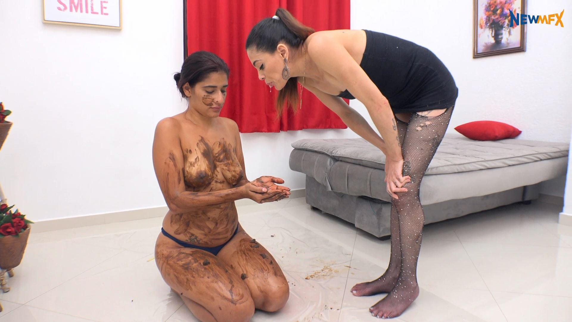 [NEW SCAT IN BRAZIL / NEWMFX] DIRTY MOMENTS. Featuring: Jessica, Mel [FULL HD][1080p][MP4]