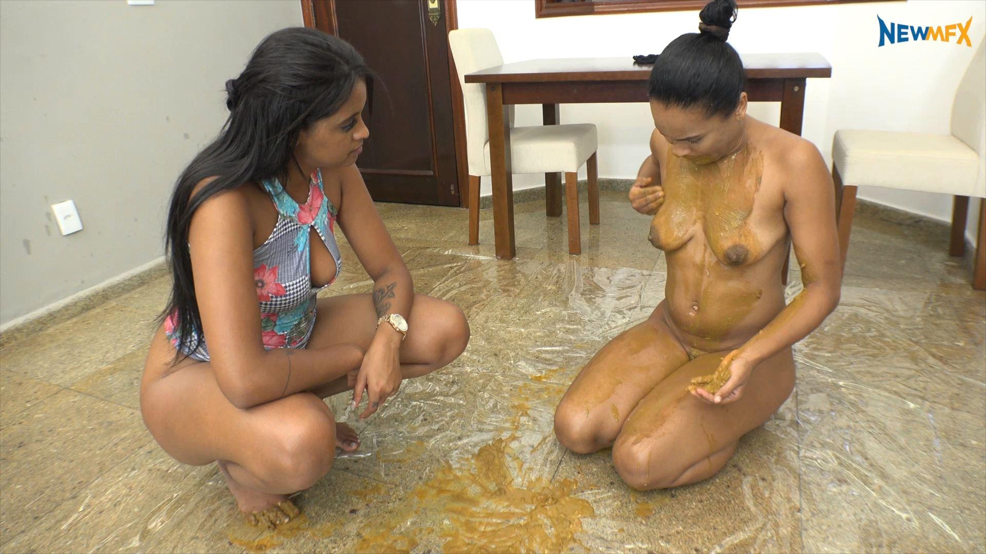 [NEW SCAT IN BRAZIL / NEWMFX] SHARING MY PRECIOUS. Featuring: Lisa Black, Isa Blue [FULL HD][1080p][MP4]