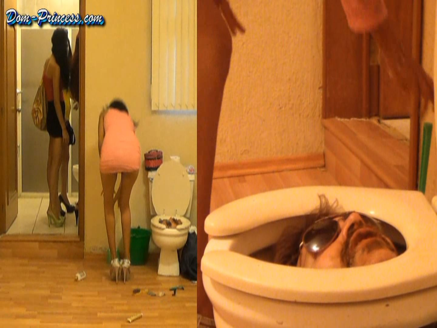 [SCAT-PRINCESS] Human Toilet Bowl locked Part 6 Britany [FULL HD][1080p][WMV]
